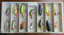 Vintage Fishing Lures Lot of 14 Unbranded Lures #F100