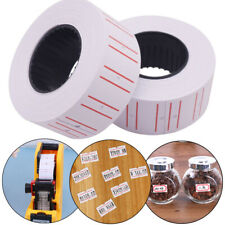 1 Roll(500 Pcs) White Self Adhesive Price Label Tag Sticker Office Supplies