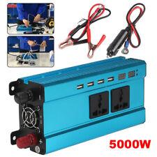2000W - 5000W Converter Power Inverter Blue Sine Wave DC 12V to AC 220V Invertor