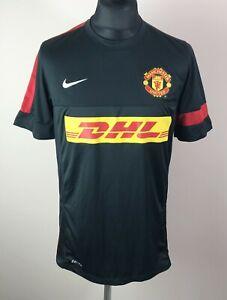 Manchester United 2012/2013 NIKE Training Football Shirt Men's Size L DHL Jersey