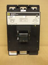 Square D Lcl Lcl36500 3 Pole 500 Amp 600V Circuit Breaker Gray Label Flawed