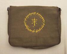 JRR Tolkien Lord of the Rings, LOTR Art Gift, Elvish Script Book Bag