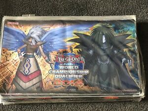 Yugioh 2014 WCQ Guardian Eatos & Guardian Dreadscythe NEW/SEALED Mat!! Unopened!