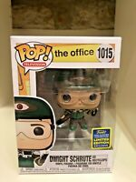 DWIGHT SCHRUTE RECYCLOPS SDCC 2020 CONVENTION EXC FUNKO POP THE OFFICE TV #1015