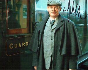 Martin CLUNES SIGNED Autograph 10x8 Photo A AFTAL COA Arthur & George Actor