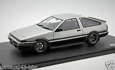 1/18 Ignition Model Toyota Sprinter Trueno AE86 3Dr Silver Free Shipping/ MR BBR