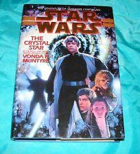 Star Wars The Crystal Star by Vonda N. McIntyre '95  Hardcover  913