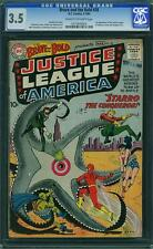 Brave and the Bold #28 CGC 3.5 DC 1960 1st Justice League JLA C12 214 cm