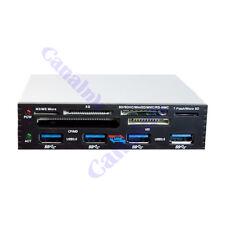 3.5 In Internal PCI-E PCI Express USB 3.0 HUB Card Reader SD SDHC MMS XD M2