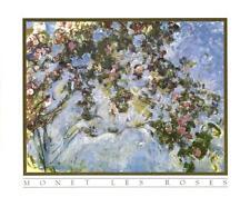 Les Roses by Claude Monet - 10x8 In. Art Print