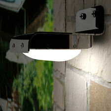 (QTY2) LED (16) PIR Solar Motion Sensing Security Garden Path Wall Fence Light