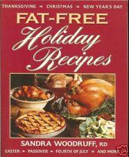 Fat-Free Holiday Recipes - over 200 recipes, PB
