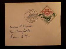 MONACO PREMIER JOUR FDC YVERT  617      HOTEL DES POSTES      0,50F     1963