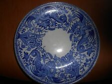 "antique sarreguemines ""dragon"" plate"