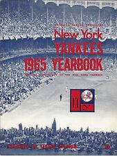 1965 New York Yankees Baseball Official Yearbook April 12 Mantle Maris Peppitone
