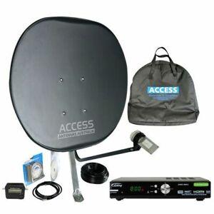 Portable Caravan Satellite Kit for 100% coverage in Australia - Same Day Postage