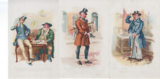 Lot of 6 x Characters from Dickens CWS postcard sized cards ~ COO-330