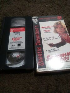 Switchblade Sisters VHS Promo Demo Screener Thunder Pictures Quentin Tarantino