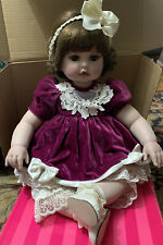 Marie Osmond BABY ABIGAIL Porcelain Toddler Doll ~ in Box ~2004
