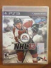 🏒Brand New!!! NHL 13 (Sony PS3, 2012) Factory Sealed!!!🏒