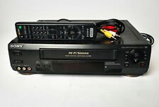 New ListingSony Slv-N50 Hi-Fi Stereo 4-Head Vcr Vhs Player W/ Remote Rca cables Tested