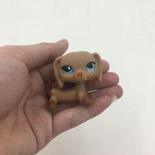 LPS Toys Littlest Pet Shop 518 Blue Eyes Dachshund Wiener Dog Brown Puppy Gift
