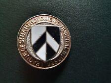 More details for st. bartholomew's league of nurses badge sterling silver good clasp 3cm diameter