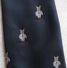 Classica Cravatta MCP MASCHIO maschilista Maiale Crest motivo da CANDA vintage con 1980 S