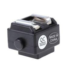 S-CN Hot Shoe Converter Adapter PC For Nikon Canon Flash To Sony Minolta Camera