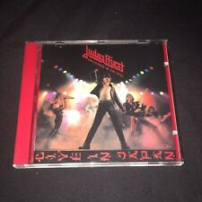 JUDAS PRIEST Unleashed In The East RARE CD  Columbia 468604 2 Iron Maiden