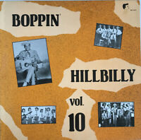 BOPPIN' HILLBILLY VOL 10 LP VARIOUS ARTIST COMPILATION NEAR MINT PRO CLEANED