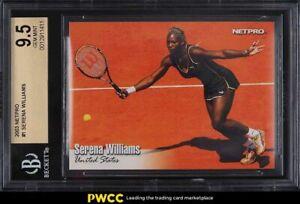 2003 Netpro Tennis Serena Williams ROOKIE RC #1 BGS 9.5 GEM MINT