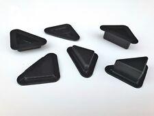 dreieckiger Möbelgleiter Möbelfuß Möbelerhöhung Kunststoff  5 15 25 mm Höhe