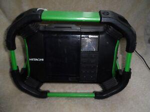 Hitachi UR18DSDL DAB Jobsite Radio with Bluetooth