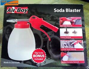Air Boy Soda Blaster Gun (Sandblast Style) – Great for Intricate Work  124145154