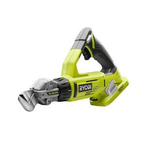 New Ryobi P591 - 18-Volt ONE+ 18-Gauge Offset Shear (Tool Only)