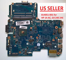 814051-601 Motherboard for Hp G4 240 246 14-Ac Series Laptops, N3050, Us, New