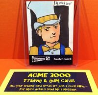 Thunderbirds 50 Years Unstoppable Cards - Bruce Gerlach Sketch Card SK1