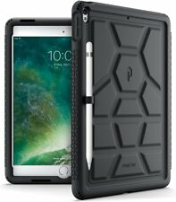 TurtleSkin Series For Apple iPad Pro 10.5 Silicone Shockproof Cover Black