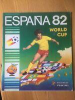 PANINI, ESPANA 82 WORLD CUP, STICKER ALBUM FOOTBALL 1982 - VGC - EMPTY