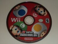 Nintendo Wii New Super Mario Bros. Wii Game Disc Only Tested Working