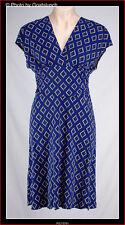 Empire Waist Polyester Regular Geometric Dresses for Women