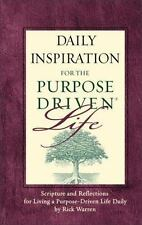 Daily Inspiration for the Purpose-Driven Life by Rick Warren (2004, Hardback)