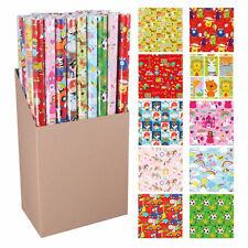 10 Rollen Geschenkpapier Geschenkspapier Einschlagpapier Kindermotive ID 433020