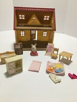 EPOCH Calico Critters Cozy Cottage Sylvanian Families Doll House Furniture Bunny