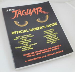 Atari Jaguar Official Gamer's Guide - Zach Meston J. Douglas Arnold - BRAND NEW