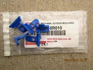 03 - 08 TOYOTA COROLLA S XRS FRONT & REAR BUMPER SPOILER RETAINER CLIP QTY 5 NEW