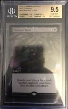 Demonic Tutor - BGS 9.5 GEM MINT - Ultimate Masters Box Topper - MTG -