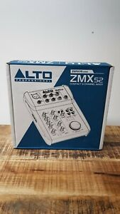 Alto Professional Audio Zephyr Zmx52 Compact 5 Channel Mixer