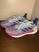 Adidas Solar Glide Boost Running Shoes B96288 Red White Blue Womens Size 8 New!